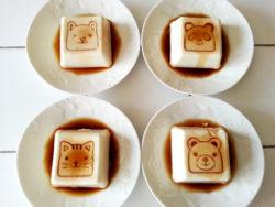 delijoy豆腐スタンプ_アニマル_4種類