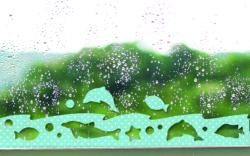 3717_防カビ結露吸水シート(シルエット)3枚入イルカとサカナ_小久保工業所_使用シーン
