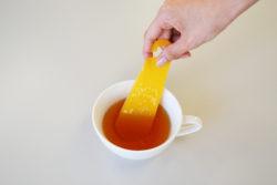 delijoy_薬味すりすりベーラ_3紅茶にまぜる