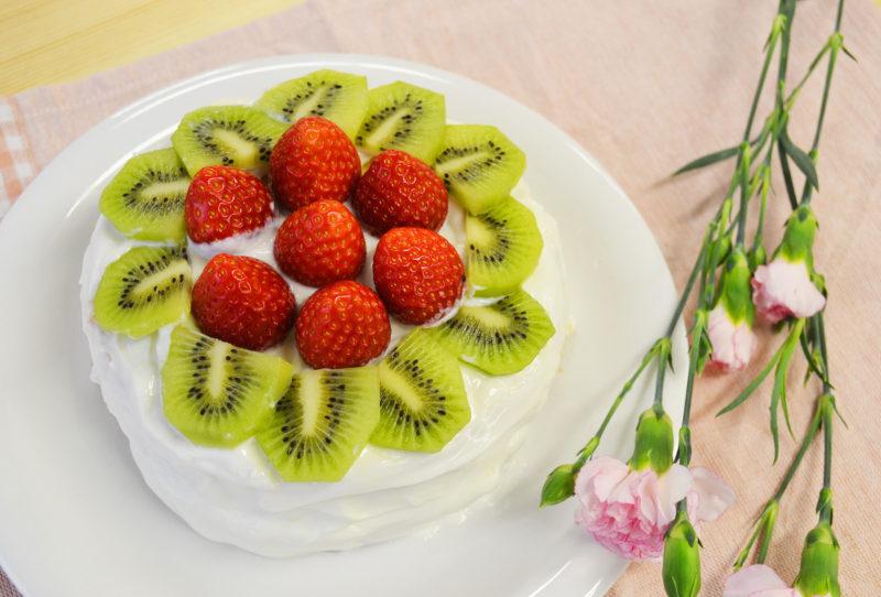 ヨードリップ_ヨーグルトクリームのショートケーキ