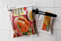 KM-341_キャットグレイスキッチンクリップLARGE&SMALL_KOKUBO小久保工業所_使用例_冷凍食品