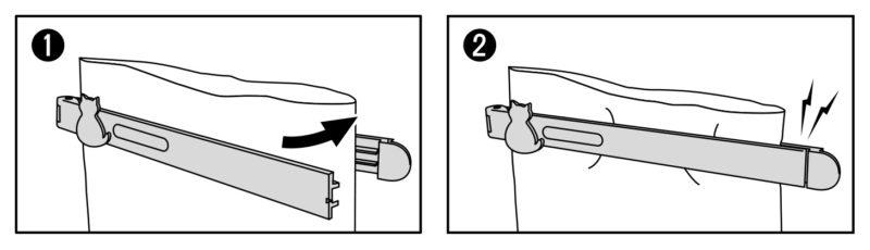 KM-341_キャットグレイスキッチンクリップLARGE&SMALL_KOKUBO小久保工業所_ご使用方法2_クリップの閉じ方図