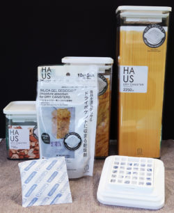 KK-462_ドライキャニスター用シリカゲル乾燥剤5個入_KOKUBO小久保工業所_使用例
