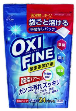F-234_オキシファイン酸素系漂白剤_水溶紙パック30g×24パック入_扶桑化学