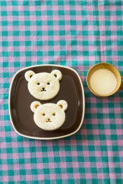 11くまさんサンドイッチ_KOKUBO本「おうちごはんとおべんとう」