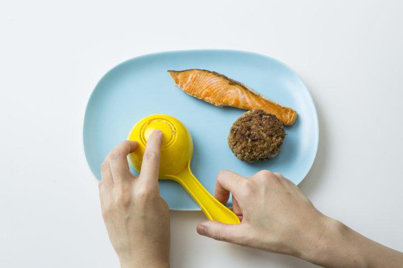07焼き鮭おハンバーグのワンプレート_KOKUBO本「おうちごはんとおべんとう」01