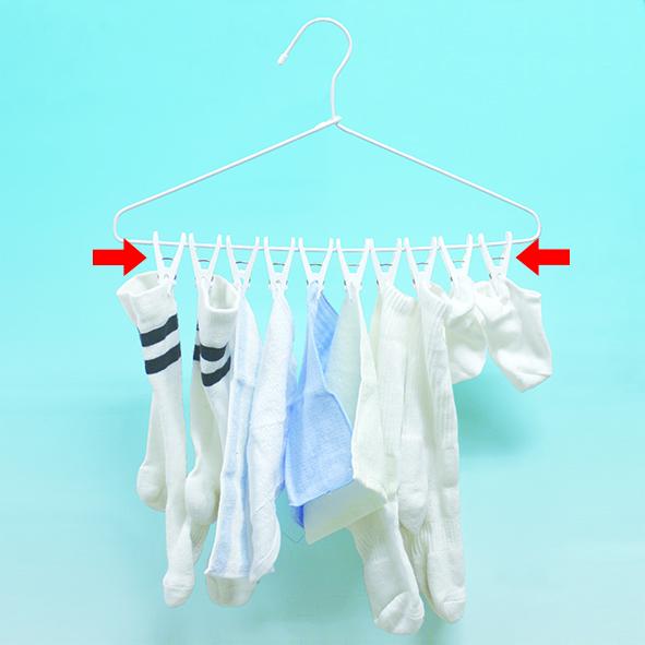 3854_洗濯物が一度に外せるピンチハンガー10ピンチ付_KOKUBO小久保工業所01