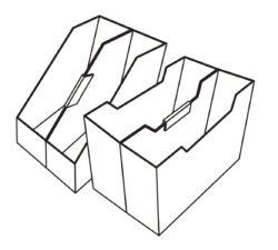 ファイルボックス連結パーツL_KOKUBO小久保工業所_使用例イラスト