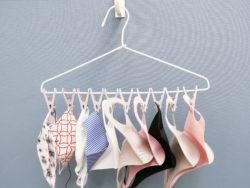 3854_洗濯物が一度に外せるピンチハンガー10ピンチ付_グレー_KOKUBO小久保工業所10